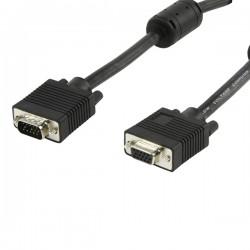 CABLES Y CONECTORES HDTEK VGA 15 M. M-M C-FERRITA