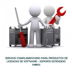 SERVICIO COMPLEMENTARIO PARA PRODUCTOS DE LICENCIAS DE SOFTWARE - SOPORTE EXTENDIDO  - 0 - 1138803