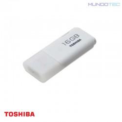 PENDRIVE TOSHIBA FLASH DRIVE 16 GB USB 2.0 TRANSMEMORY BLANCO -  PFU016U-1ACW  - UNIDAD