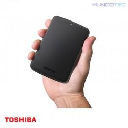 HDD PC TOSHIBA DISCO DURO EXTERNO CANVIO BASICS 3.0 2TB USB 3.0 NEGRO - HDTB320XK3CA  - UNIDAD - 1221488
