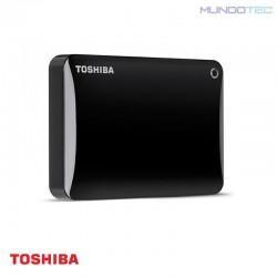 HDD PC TOSHIBA DISCO DURO EXTERNO CANVIO CONNECT II 1TB USB 3.0 NEGRO - HDTC810XK3A1  - UNIDAD - 1221489