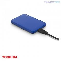 HDD PC TOSHIBA DISCO DURO EXTERNO CANVIO CONNECT II 1TB USB 3.0 AZUL - HDTC810XL3A1  - UNIDAD