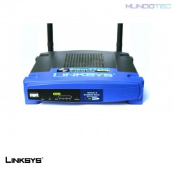 ROUTER LINKSYS WRT54GL BROADBAND WITH LINUX-UNIDAD