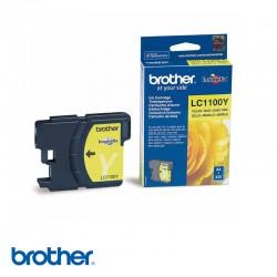 CARTUCHO DE TINTA BROTHER  LC1100Y