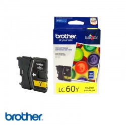 CARTUCHO DE TINTA BROTHER  LC60Y