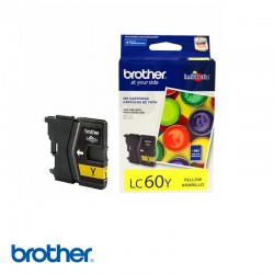 CARTUCHO DE TINTA BROTHER  LC60 YELLOW UNIDAD
