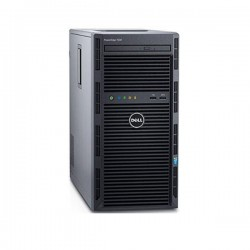SERVIDOR TOWER DELL POWEREDGE T130 / INTEL XEON E3-1220V5/8GB/2X1TB/PERC H330 UNIDAD