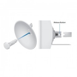 ACCESS POINT UBIQUITI PBE-M5-400 POWERBEAM UNIDAD