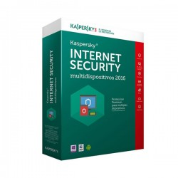LICENCIA KASPERSKY INTERNET SECURITY MULTIDISPOSITIVOS 2016 - 2 USER - 1 ANO UNIDAD