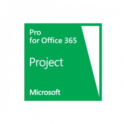 LICENCIA MICROSOFT PROJECT ONLINE WITH PROJECT PRO FOR OFFICE 365 UNIDAD
