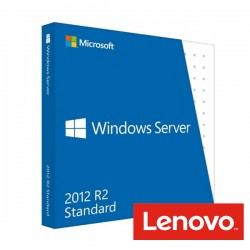 LICENCIA LENOVO WINDOWS SERVER 2012 R2 STANDARD ROK (2CPU/2VMS) (00FF246) UNIDAD