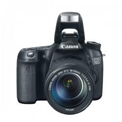 CAMARA FOTOGRAFICA CANON EOS 70D C-L 18-135MM UNIDAD