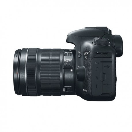 CAMARA FOTOGRAFICA CANON EOS 7D MARK II C-LENTE 18-135MM IS STM